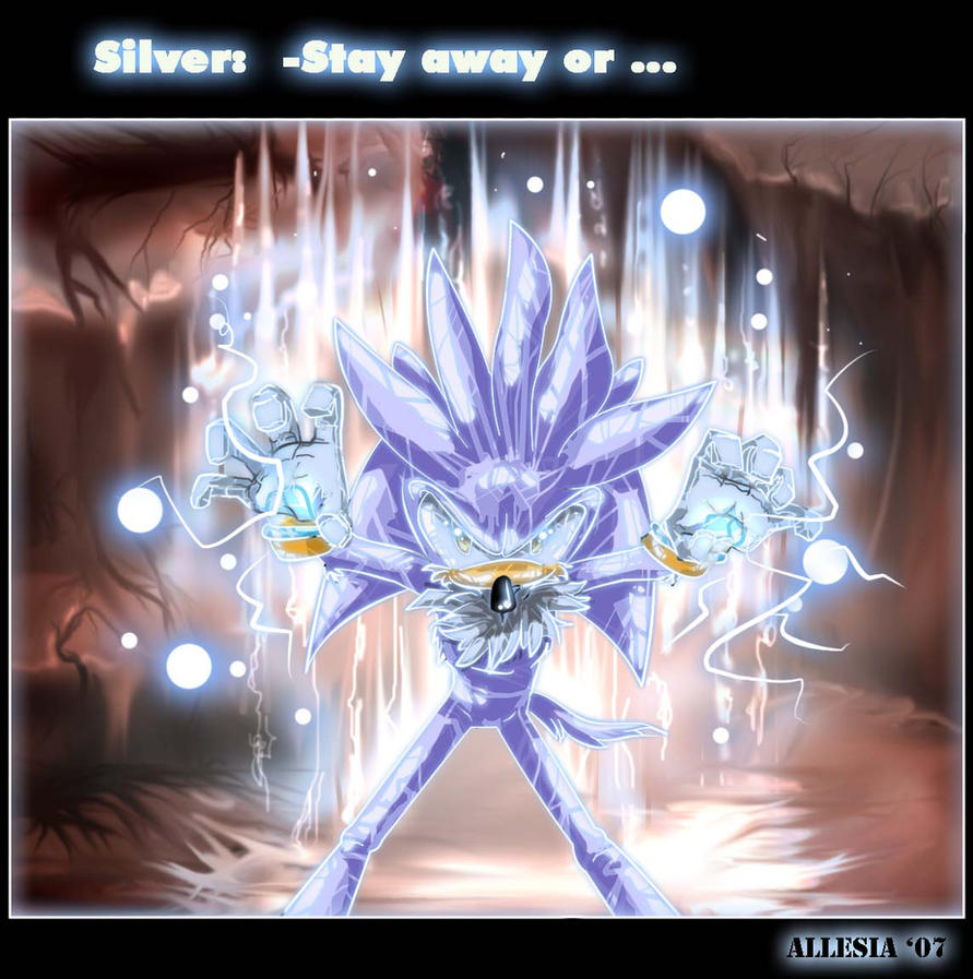 Silver The Hedgehog by AllesiaTheHedge