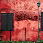 red wall composition