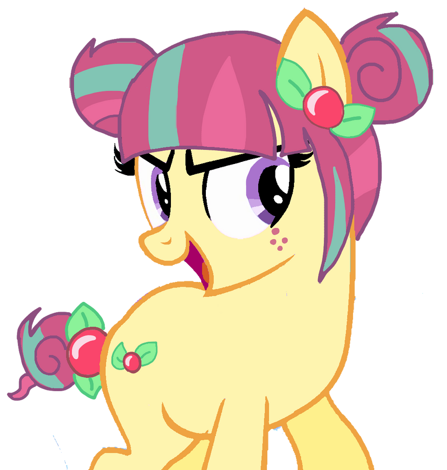 Sour sweet ponified vector by thebluetacopony