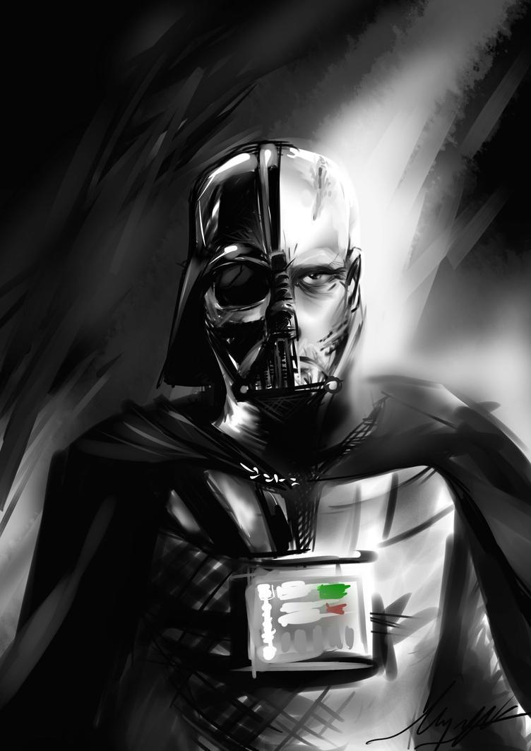 Vader ( A Broken Man ) by waversphils