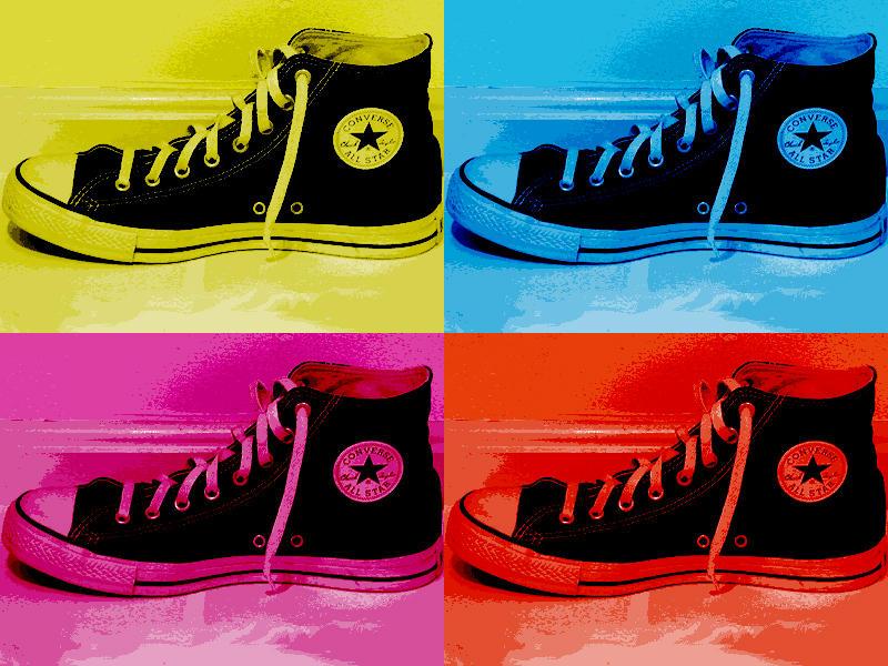 pop art converse shoes by kbmx on deviantart