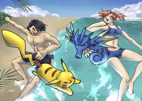 Beach Battle by CaTai