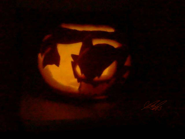 Haunter Pumpkin by CaTai