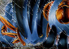 Mega-Swampert by CaTai