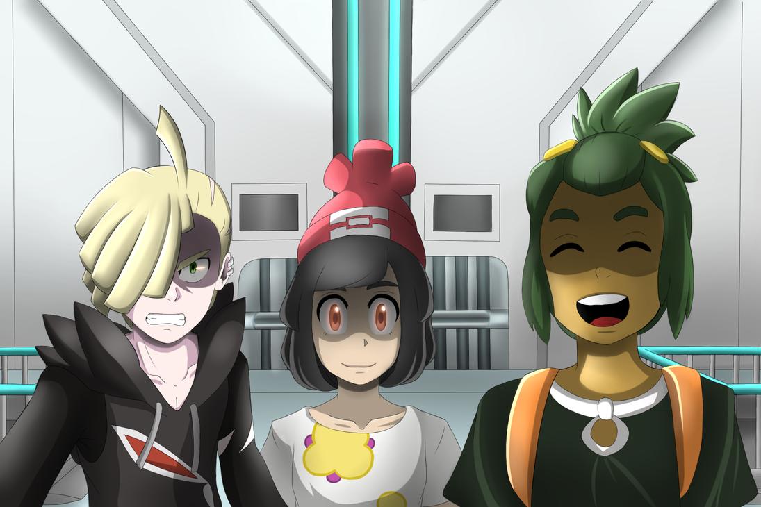 Pokemon Sun and Moon - The Lovely Trio by XanderXiv64