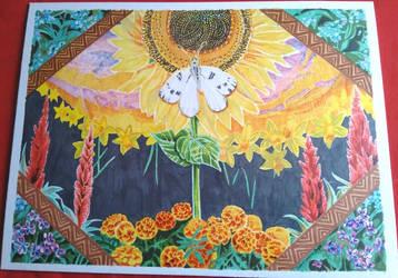100 Themes Challenge - Sunshine - Sunflower Garden