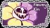 [KIN STAMP] - Flowey by ritsuwu