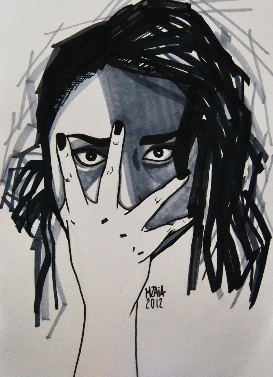 Self. September 2012 by plumcake-mery