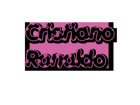 Testo png de Cristiano Ronaldo by Nowemi
