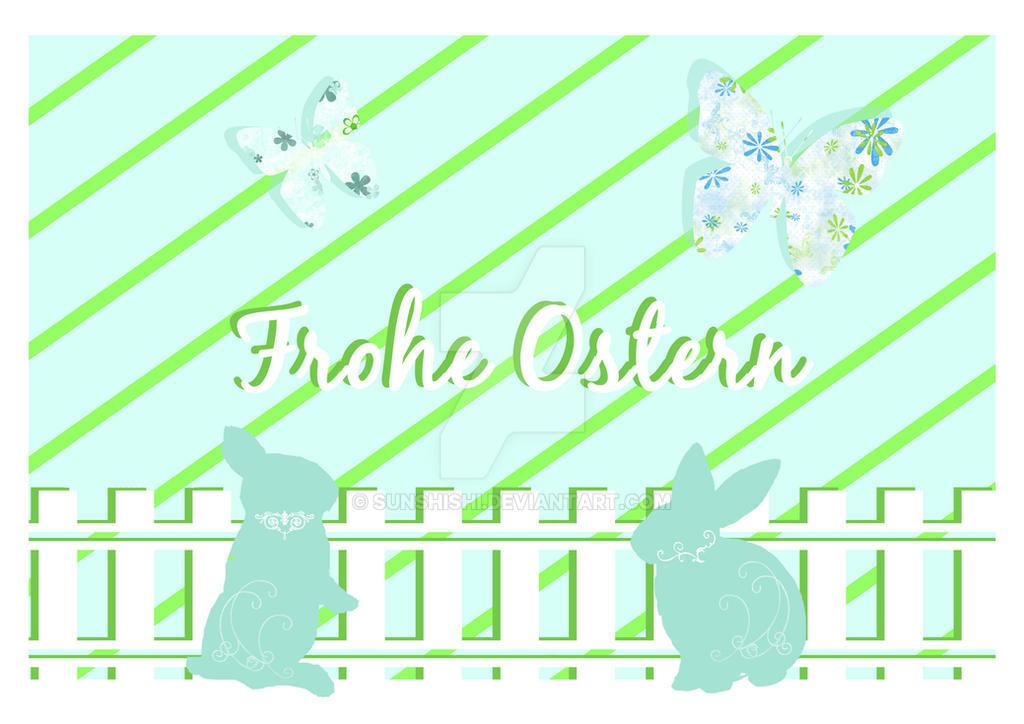 Easter Rabbits by sunshishi