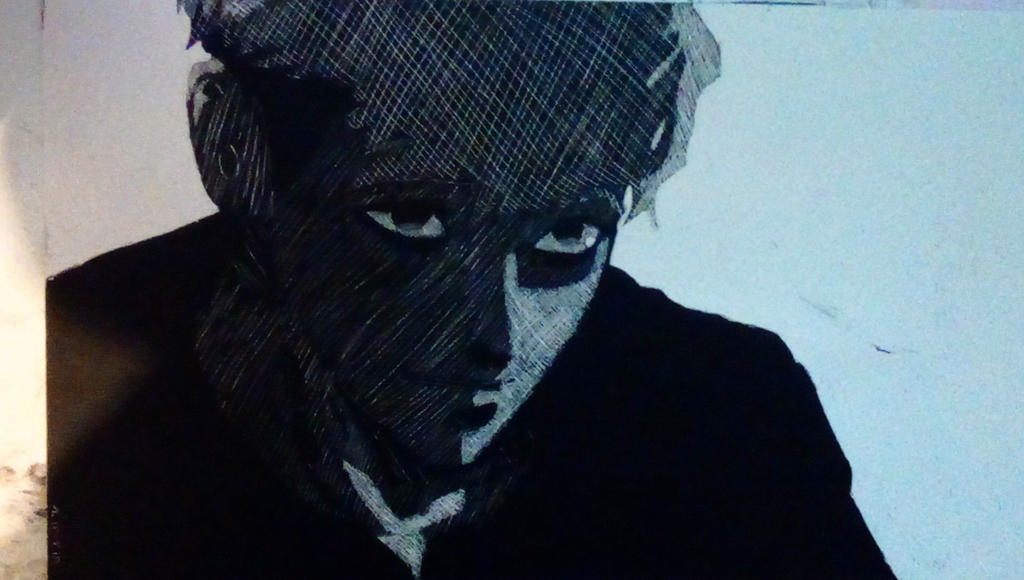 Killing Stalking fan art scratch art by ...
