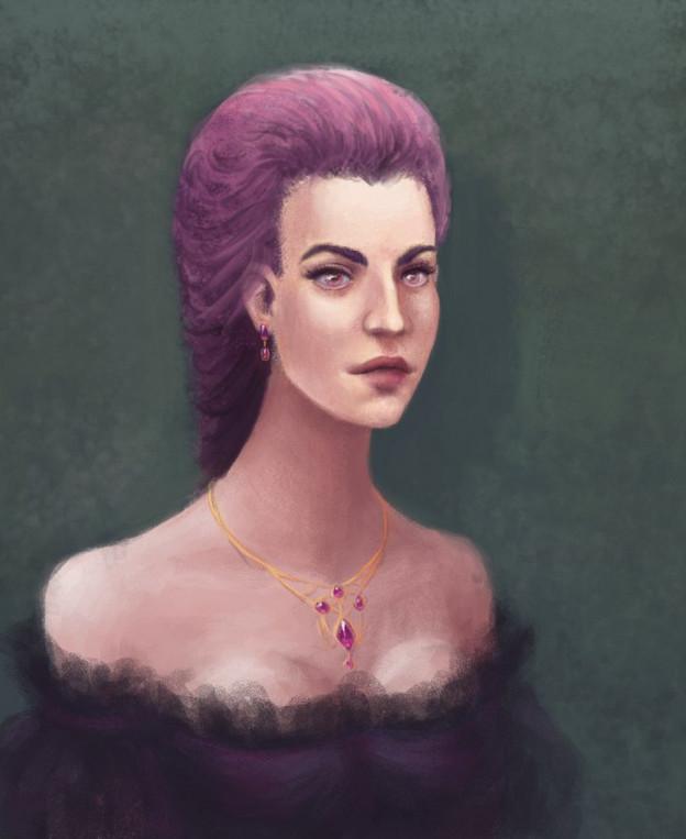 Purple by HengenVaara
