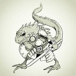 Battle Iguana