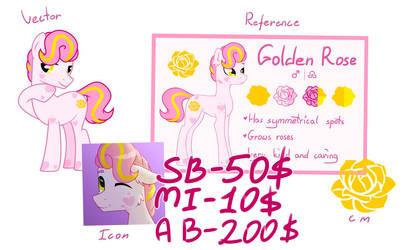 Adopt - Golden Rose