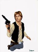 Han Solo by Darko-Stojanovic-Art