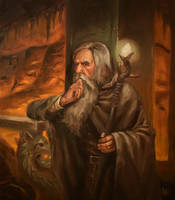 Lost in Khazad-dum by Darko-Stojanovic-Art