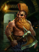 Gotrek Gurnisson by Darko-Stojanovic-Art