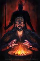 King Stannis by Darko-Stojanovic-Art