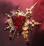'Bloody Aether' brooch