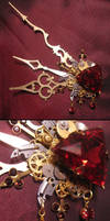 'Bloody Aether' hair clip