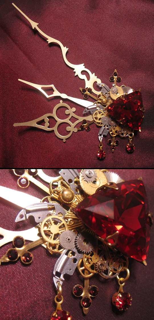 'Bloody Aether' hair clip by Space-Invader