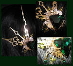 'Absinthe Aether' hairclip