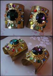 Sailor Galaxia's bracelets - V.2