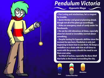 Pendulum Victoria Ref Sheet (Preternatural) by SplatterDashCartoons