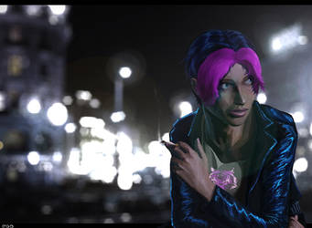 Roxy-Roxanne Freefall by Protocolrain