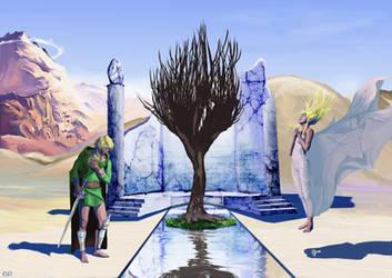 The Legend Of Zelda by Protocolrain