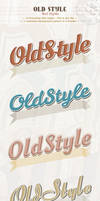 Old Style Text Styles