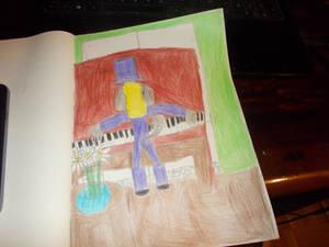 Apartment pianist