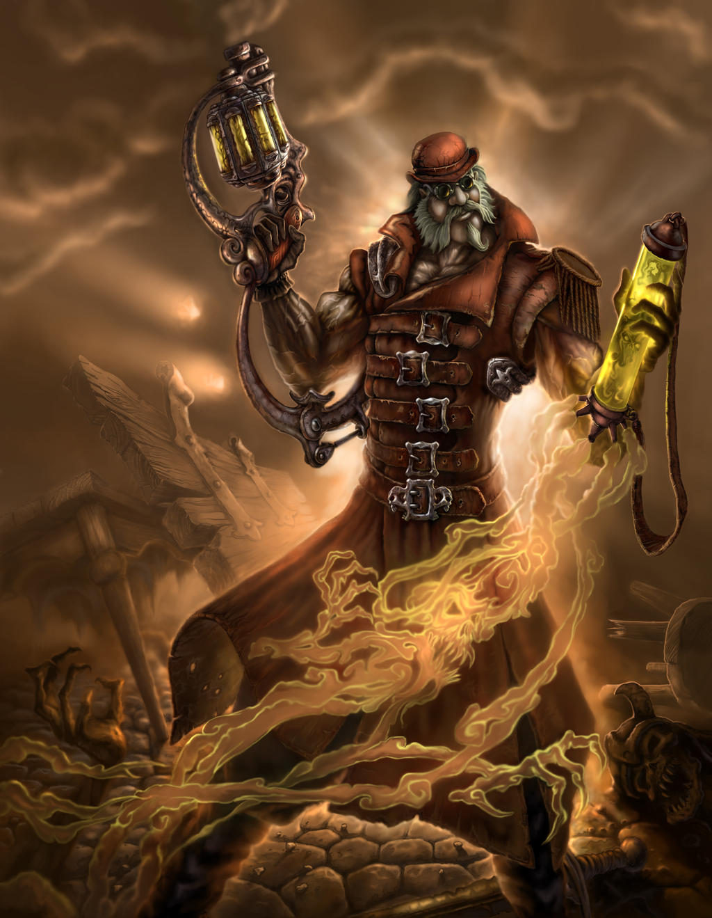 Steampunk Warrior by Serj-Lican on DeviantArt