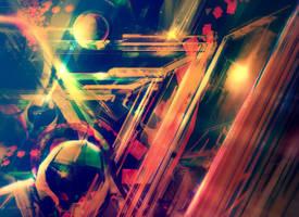 Orbital motion (Green prism edit)