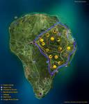 Fan made Isla Nublar map