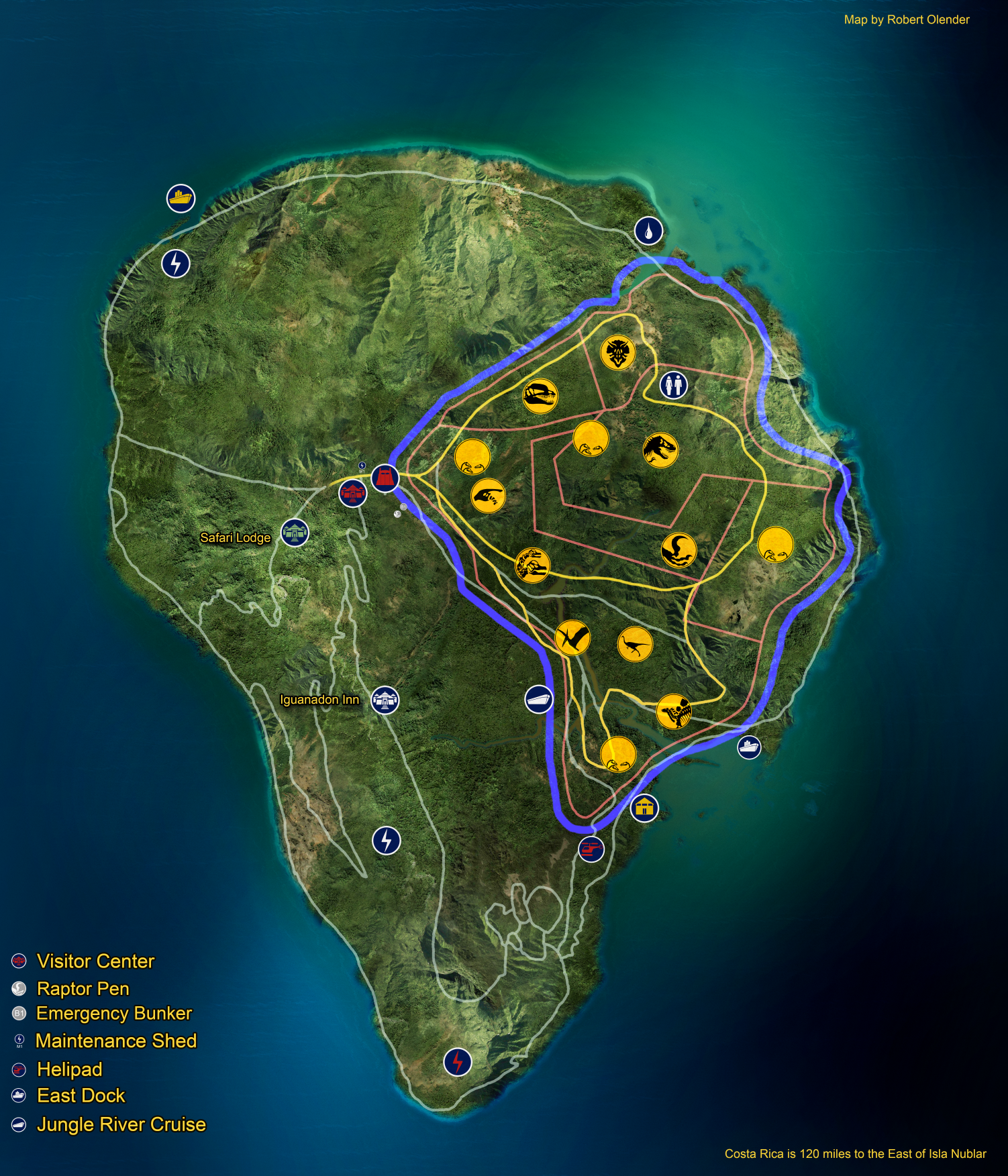 Fan made isla nublar map by fluxcreations on deviantart fan made isla nublar map by fluxcreations gumiabroncs Choice Image