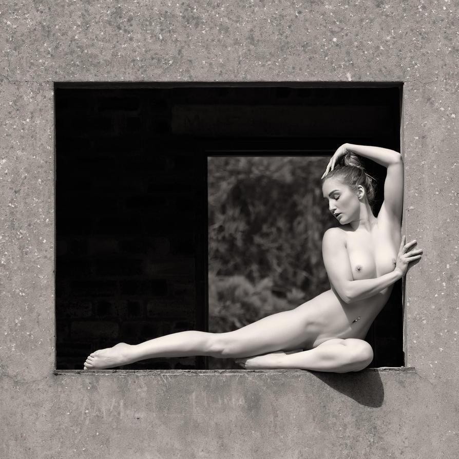 Window Nude by Fox2006