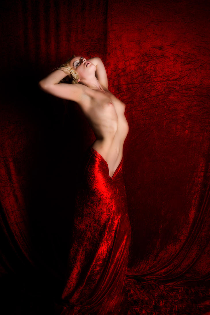 Keira in Red by Fox2006