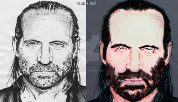 Digital Paint - John Abruzzi by MainBusnz