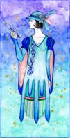 Lady Bayou with Fireflies