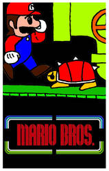 Mario Bros. by Santilario