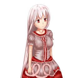 Anime girl by Anfulu