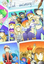 Nuzlocke Story: Delta Emerald Happy 2nd Birthday by kagura-chan-otaku