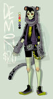 Demon - Androgynous - 01 by MontyKampf
