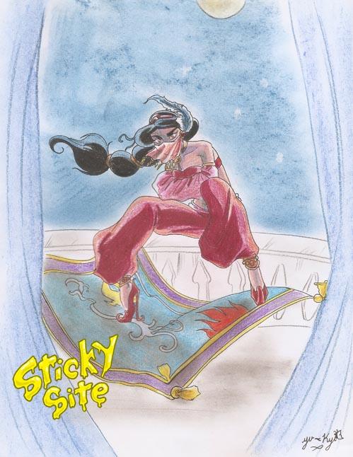Setsu D: Jasmine by yomerome