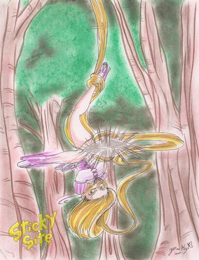 Setsu D: Rapunzel by yomerome
