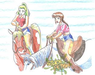 HorsebackRide by yomerome