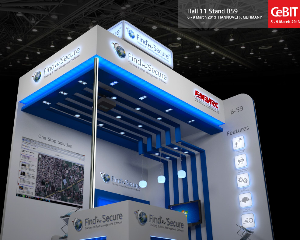 3d Exhibition Stand : D exhibition stand design for cebit by manindar on