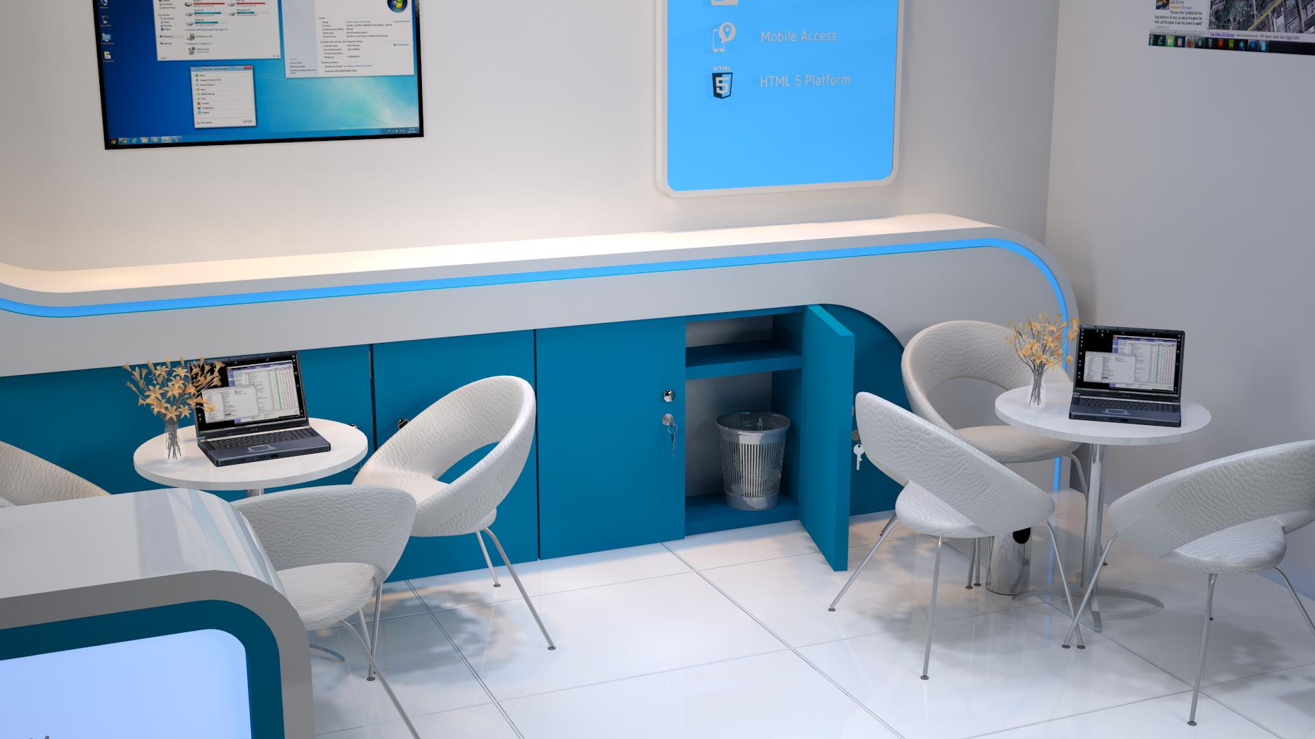 3d Exhibition Stall Design : D exhibition stall design by manindar on deviantart