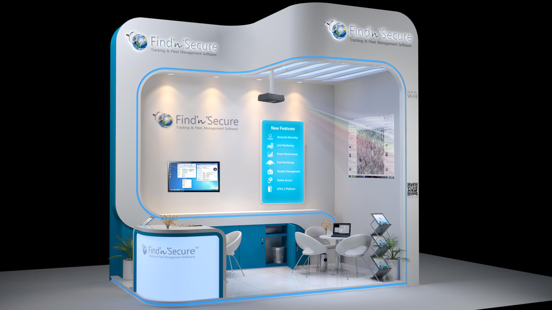 Free 3d Exhibition Stand Design : D exhibition stall design by manindar on deviantart